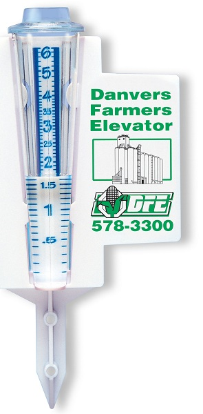 MORCO GREEN WAVE RAIN GAUGE
