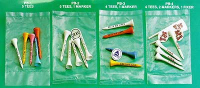 GOLF TEE OFF PACKS